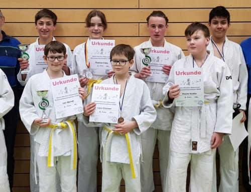 Viele Medaillen bei Judo Einzel-Kreismeisterschaften in Walldorf