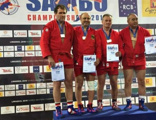 Eyüp Soylu verteidigt Ü35-Sambo-Weltmeister-Titel